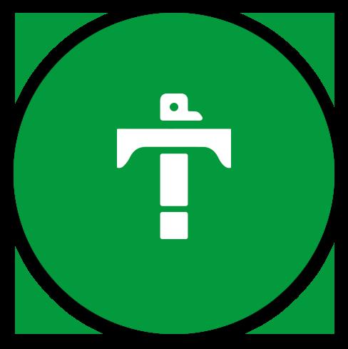 green circle totem t