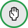 volunteer circle icon