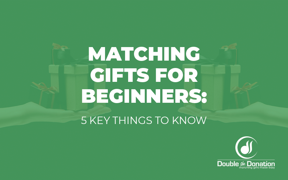 double the donation matching gift blog image