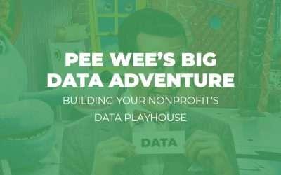 Webinar: Pee Wee's Big Data Adventure – Building Your Nonprofit Data Playhouse