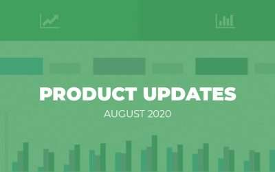 Product Updates: August 2020