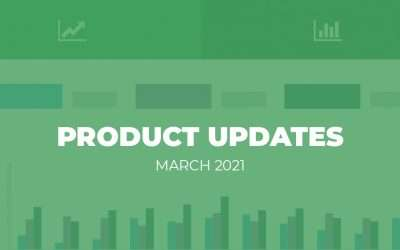 Product Updates: March 2021