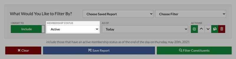 alpine active inactive membership status
